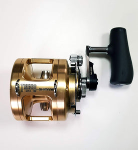 Shimano Tiagra 20 A 2 Speed Offshore Multiplier Saltwater Trolling Fishing Reel, TI20A