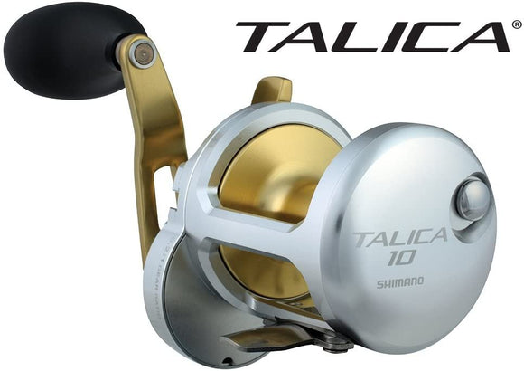 Shimano Talica 10 Single Speed Leverdrag Big Game Offshore Seafishing Multiplier Trolling Fishing Reel, TAC10