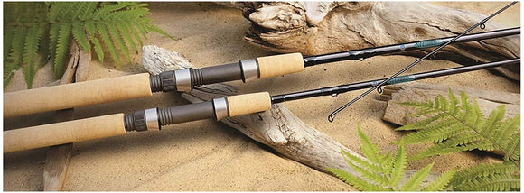 St. Croix PS76MF2 Premier 2-Part Graphite Spinning Fishing Rod with Cork Handle, 7-feet 6-inches