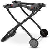 "Weber 6557 Q Portable Cart, 28.2"" x 21"" x 25"", Black"