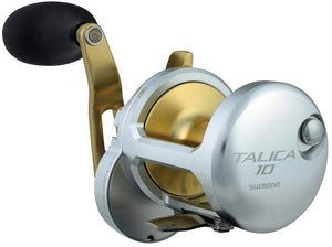 Shimano Talica 10 II Speed Lever drag Big Game Offshore Seafishing Multiplier Trolling Fishing Reel
