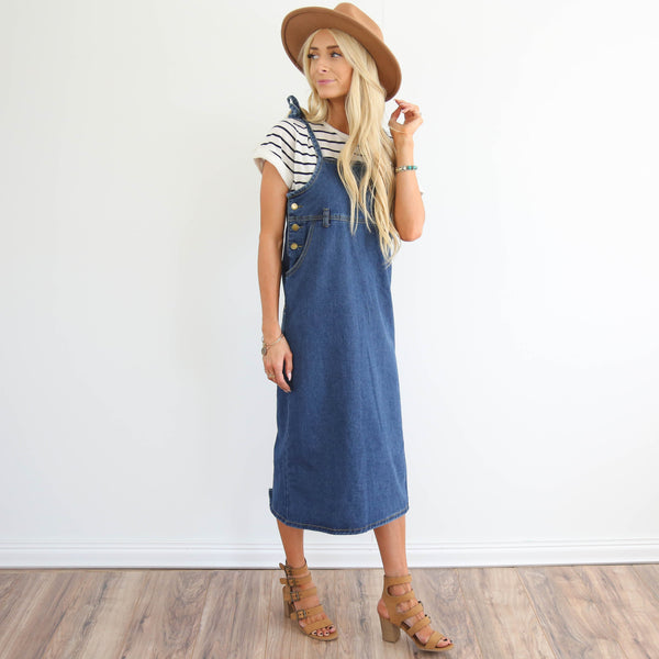 Annette Denim Dress