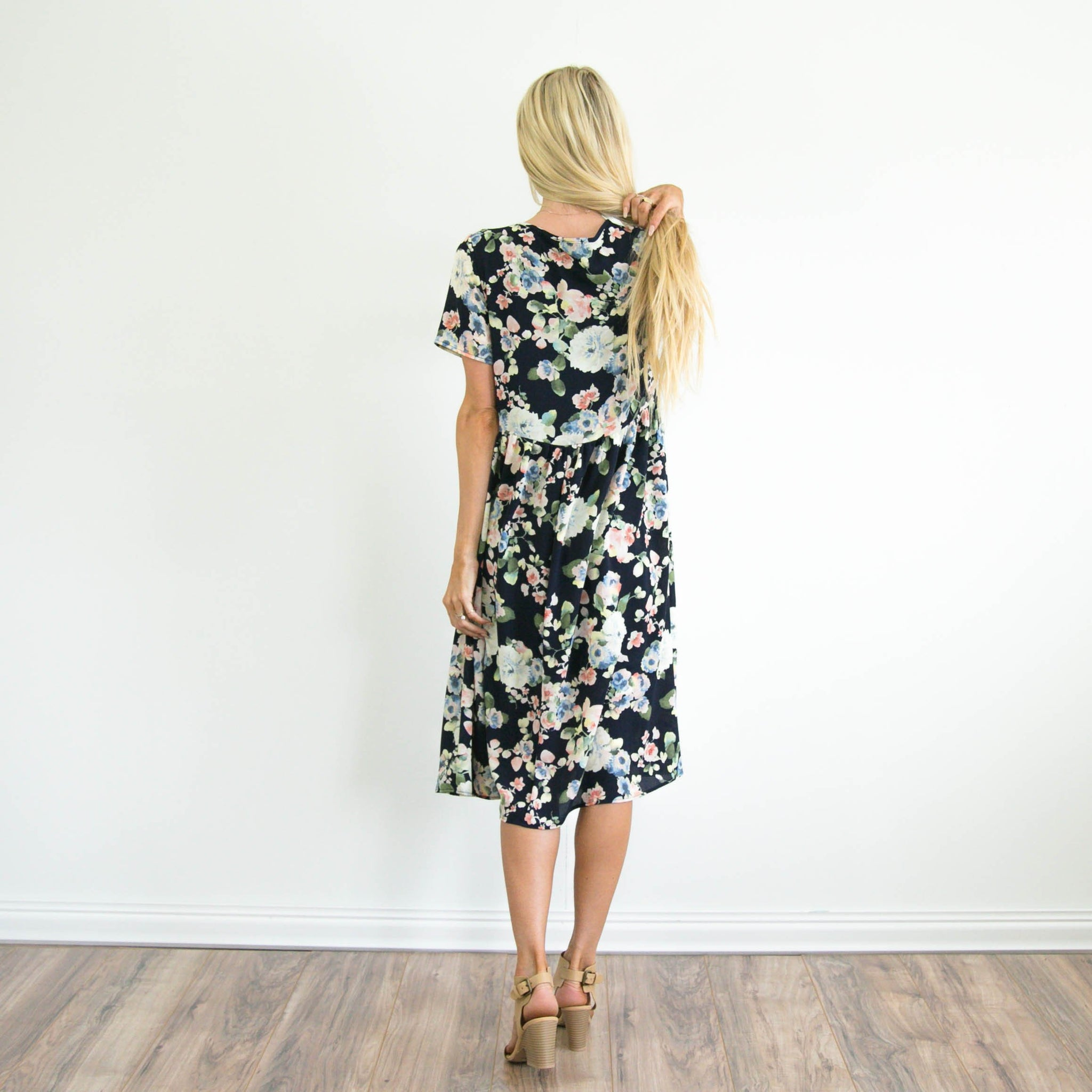 S & Co. Brin Floral Dress