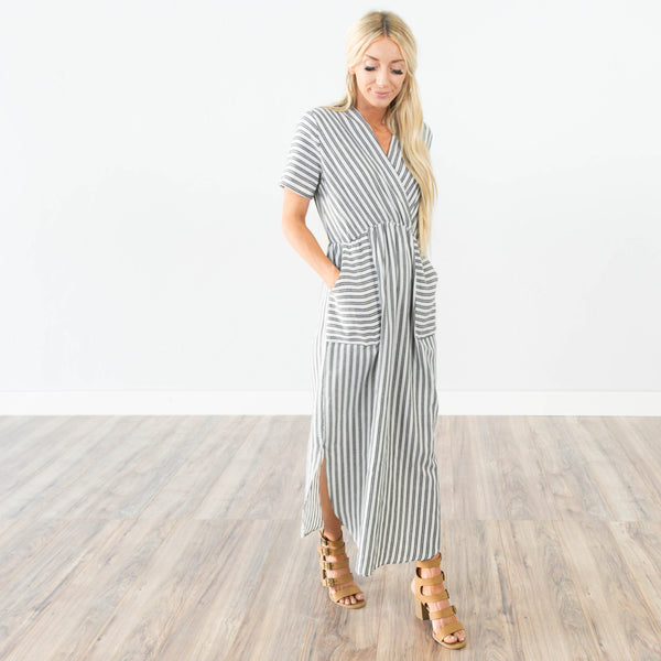 Cleo Stripe Dress