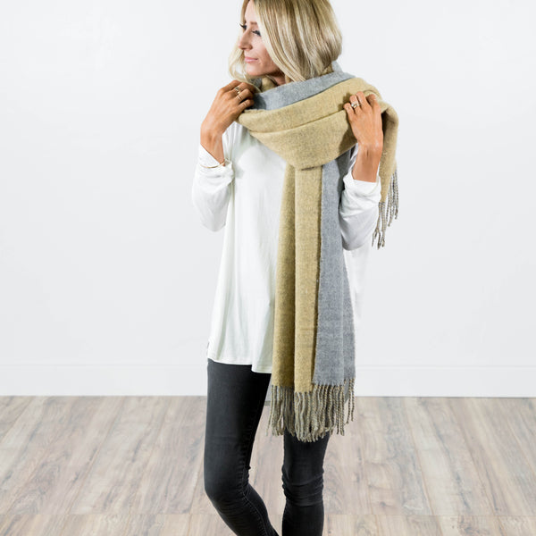 London Beige Scarf