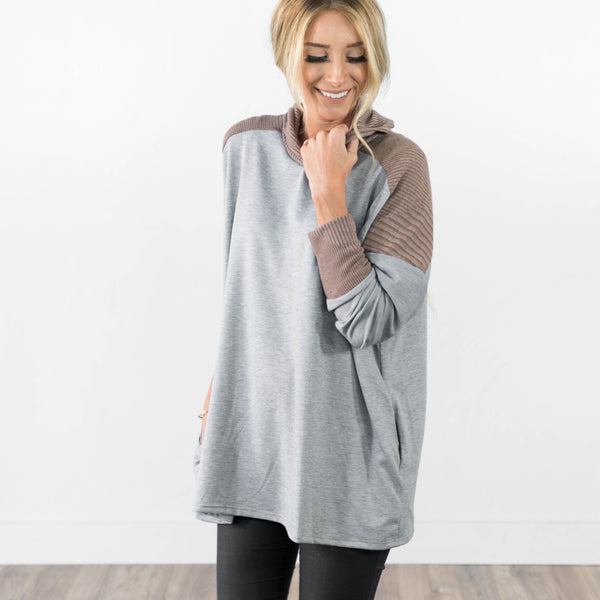 Hilary Contrast Sweater