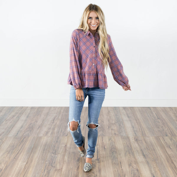 Tallulah Button Up