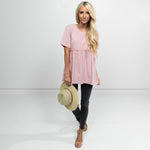 Regan Short Sleeve Top