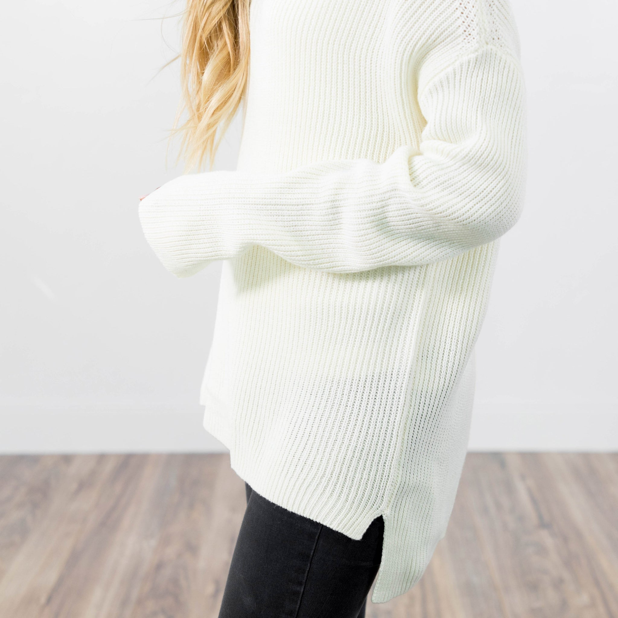 Arielle Knit Top in Ivory
