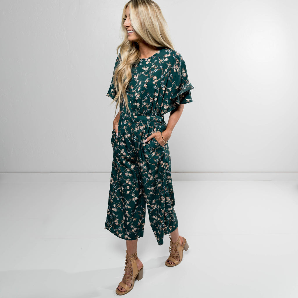 Echo Printed Jumpsuit