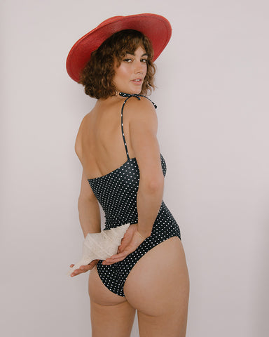 Polka-Dot One Piece