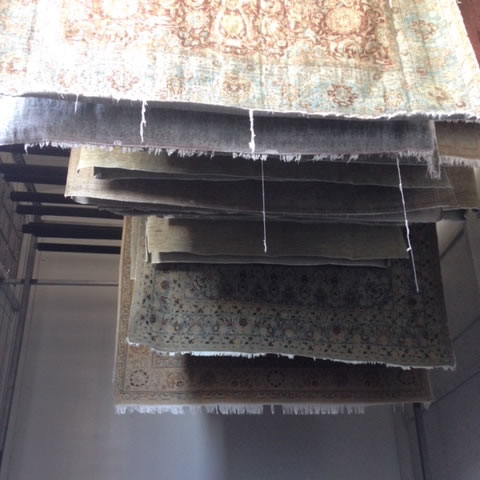Woven Passion Rugs - Cleaning - Drying