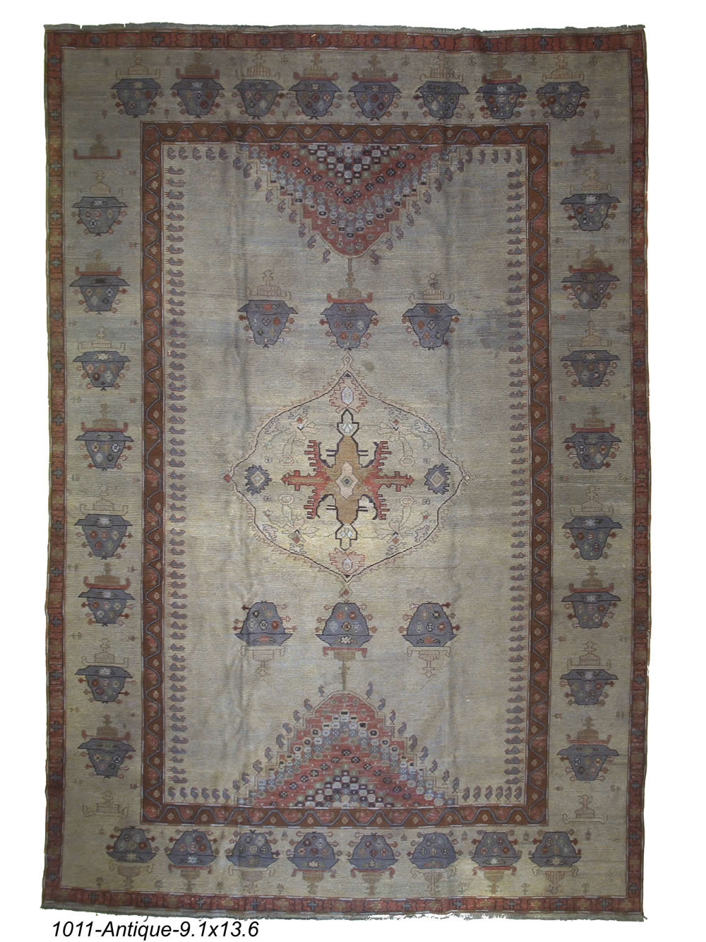 Antique Persian Sumak Rug