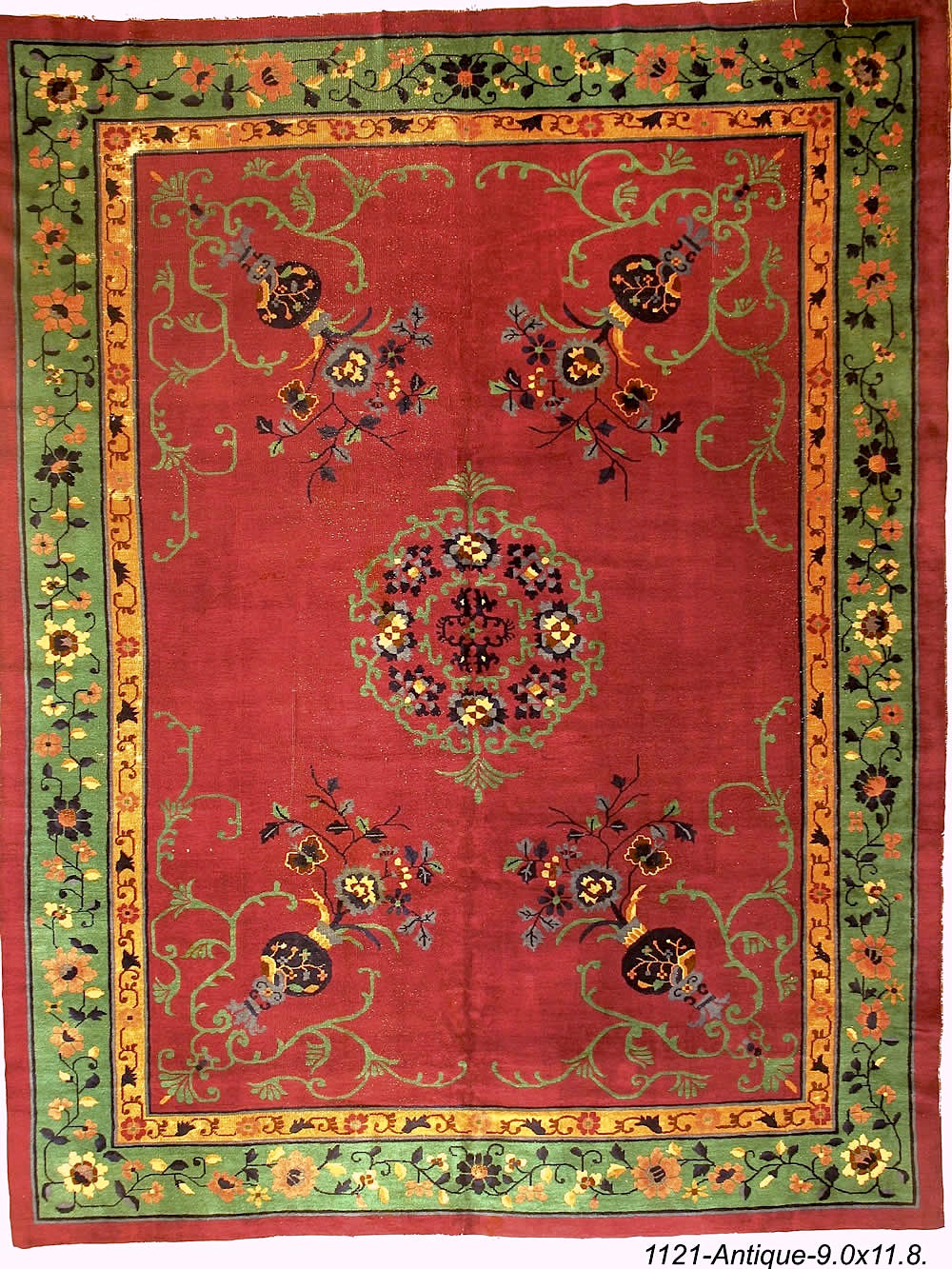 Antique Chinese Rug
