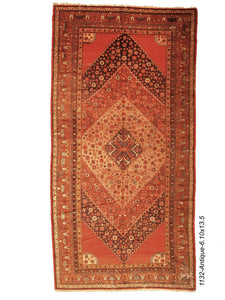 Antique Persian Khotan Rug