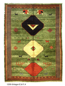 New Indian Gabbeh Rug