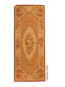New French Aubusson Rug