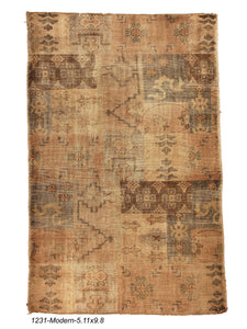 New Indian Patchwork Rug