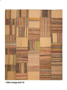 Vintage Turkish Patchwork Rug