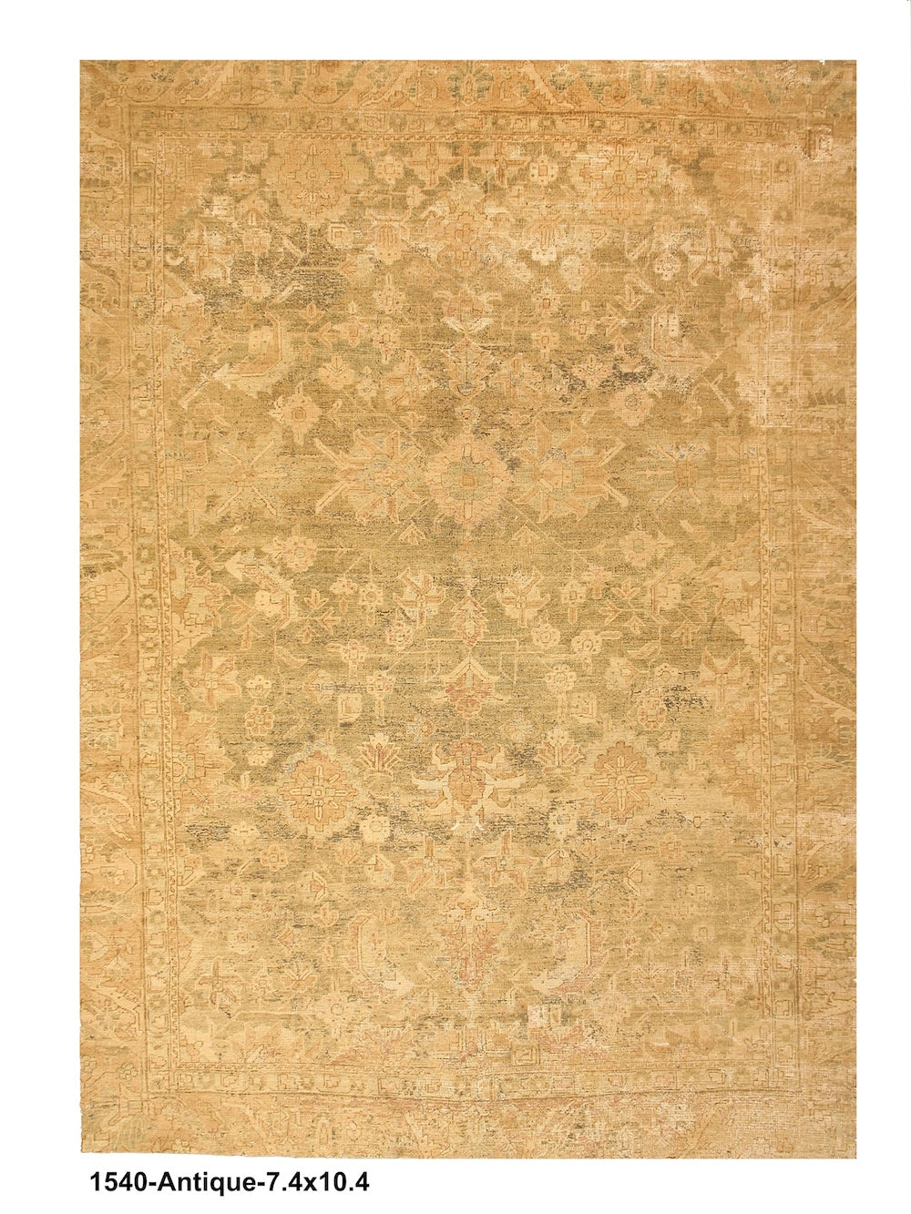 Antique Acid Wash Turkish Rug