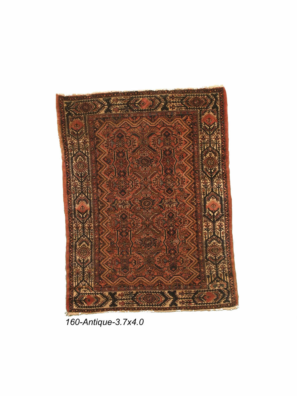 Antique Persian Bibikabad Rug