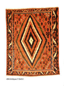 Antique Persian Gabeh Rug