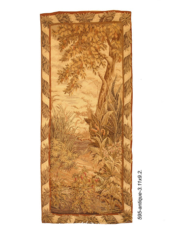19th Century French Verdure Tapestry