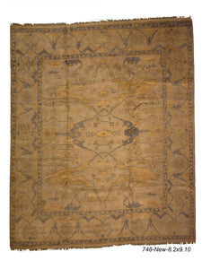 New Turkish Oushak Rug