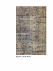 Modern Distressed Indian Patchwork