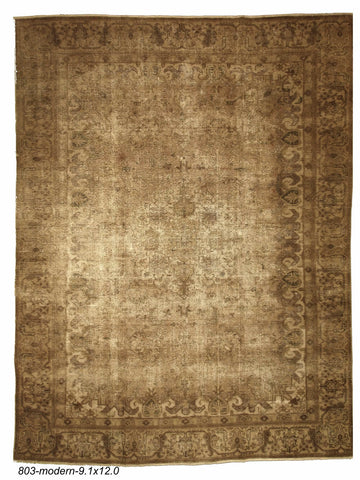Vintage Distressed Indian Rug