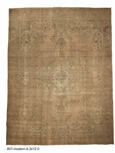 Modern Indian Distressed Rug