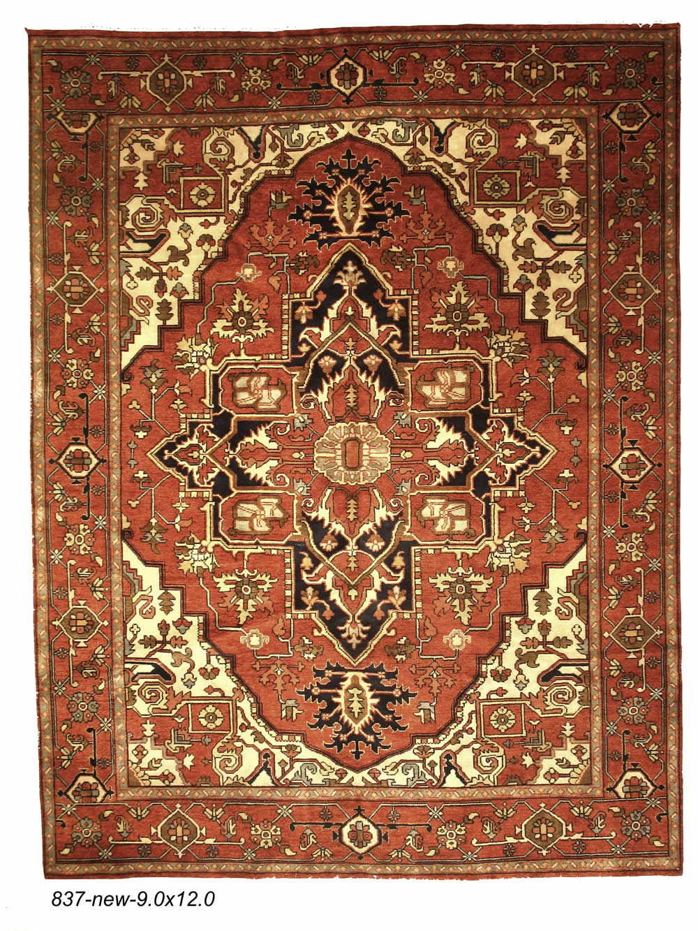 New Persian Heriz Rug