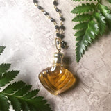Perfume Bottle Necklace