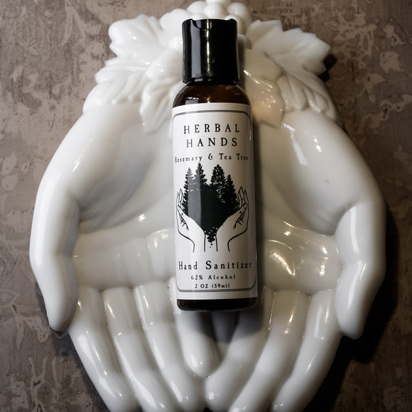 Herbal Hands Alcohol-based Hand Sanitizer Gel