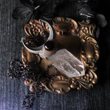 Lemurian Seed Quartz And Eye Agate Statement Necklace