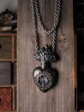 Large Ex Voto And Apophyllite Statement Necklace