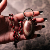 large shiva lingam necklace