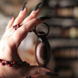 Large Shiva Lingam Statement Necklace (one of a kind)