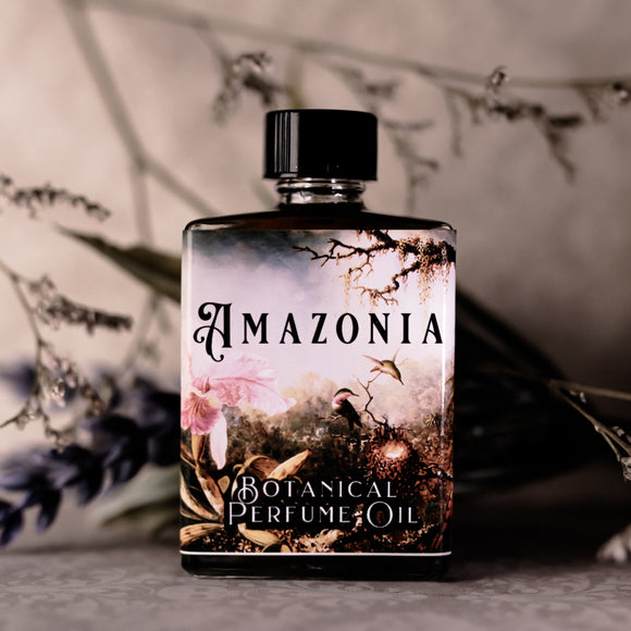 Amazonia: A Botanical Perfume Oil To Benefit Amazonia