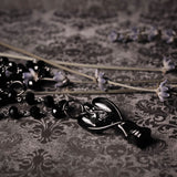 Dark Angel Memorial Urn Necklace