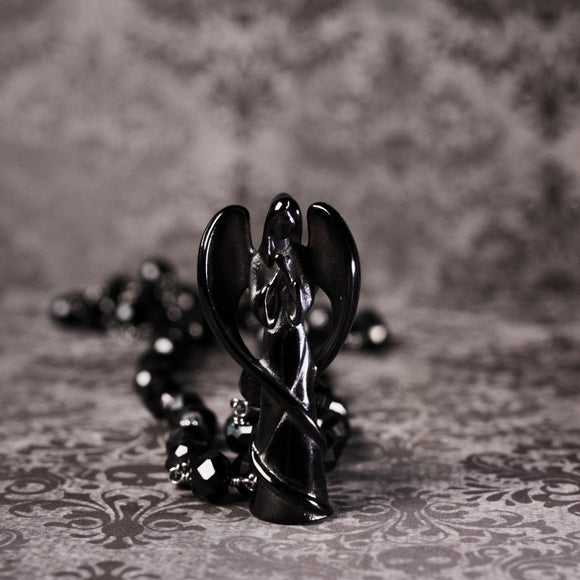 Dark Angel Memorial Urn Necklace (Five Available)
