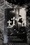 Victorian German Mourning Postcard #1