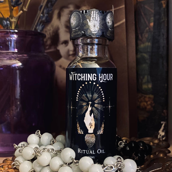 Witching Hour Halloween Full Moon Ritual Oil (Limited Pre-Order)