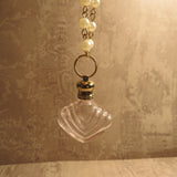 Victorian Inspired Glass Poison Bottle Necklace