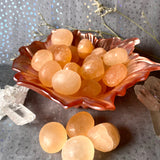 Peach Selenite (Set Of Three)