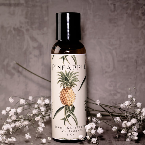 Pineapple Alcohol-based Hand Sanitizer Gel
