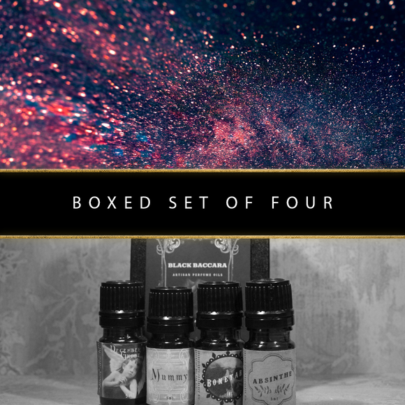 Boxed Set Of Four Perfumes Of Your Choice