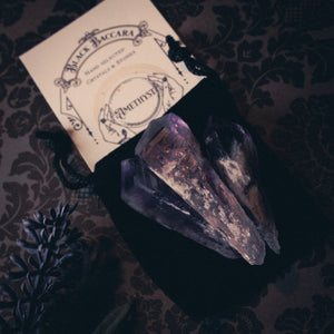 Amethyst Root Wands (Set Of Three)