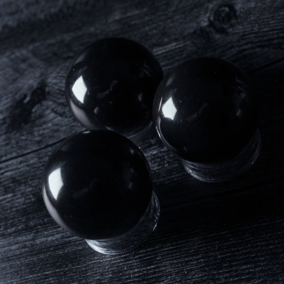 Black Agate Sphere/Scrying Ball