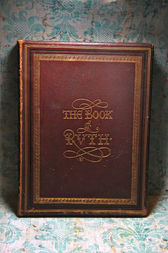 The Book Of Ruth, 1850, Scarce Victorian Book